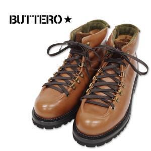 【BUTTERO ブッテロ】ワークブーツ 本革 (B6601) BROWN ブラウン(CUOIO) イタリア製 正規品 紳士靴|ramblebyziema