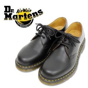 Dr.Martens ドクターマーチンブラック 3ホールブーツ 3EYE BOOT マーチン専用BOX付き (10085001)|ramblebyziema