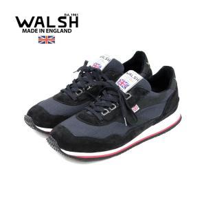 【WALSH ウォルシュ】レザーランニングスニーカー ENSIGN HAINSWORTH (ENS7...