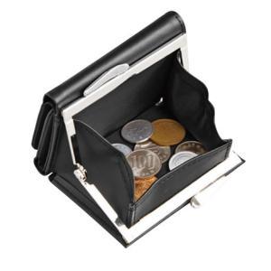 基本送料499円!大きく開くガマ口タイプのミニ財布 ramecacamera