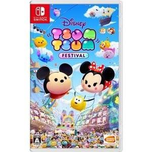 ☆ネコポス・ゆうメールOK【新品】Nintendo Switch ディズニー ツムツム フェスティバル|ramkins