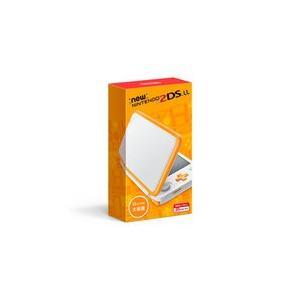 【新品】Newニンテンドー2DS LL ホワイト×オレンジ 2DSLL本体|ramkins