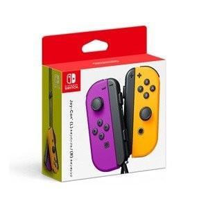 【新品】Nintendo Switch スイッチ Joy-Con ジョイコン (L) ネオンパープル/(R) ネオンオレンジ|ramkins