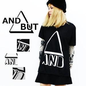 ☆送料無料☆【新品】AND▲BUTロゴTシャツ 半袖 Tシャツ ロゴTシャツ|ramkins