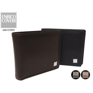 ENRICO COVERI(エンリココベリ)セノ 折財布  小銭入れなし 薄マチ ECM054) 054|rammy