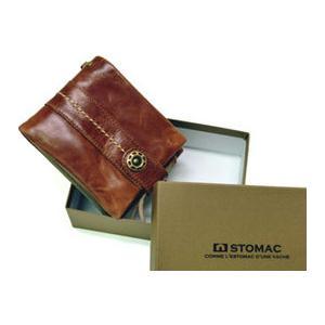 ESTOMAC エストマ ユニプルアップ ベラ付き二つ折財布 35801|rammy