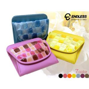 ENDLESS エンドレス 日本製 ステンドクロコ・小銭入れ コインケース  ボックス・カード入れあり  18-S-343|rammy