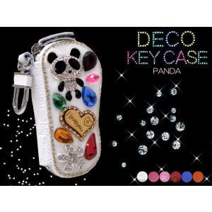 DECO デコ キーケース パンダ  4連 001  0013【gold】【d10】 rammy