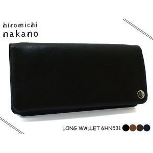 hiromichi nakano(ヒロミチナカノ)メンズ ボルサ 長財布( 束入れ L型ファスナー )531  6HN531|rammy