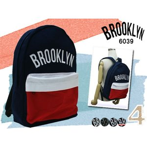 BROOKLYN ブルックリン  カジュアル スウェット  デイパック A4対応 リュック 33-6039  6039|rammy