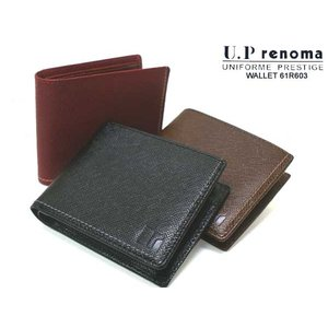 U.P renoma レノマ クロワーゼ 折財布 ボタン 61R603  603|rammy
