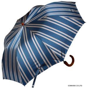 【送料無料】2段折りたたみ傘RAMUDA 55×8軽量トップレス 折りたたみ 傘 甲州織(レジメンタル)ストライプ楓手 【2163051bu】|ramuda|02