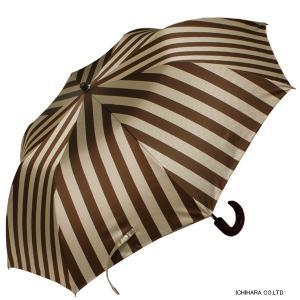 【送料無料】2段折りたたみ傘RAMUDA 55×8軽量トップレス 折りたたみ 傘 甲州織(レジメンタル・ワイド)|ramuda|02