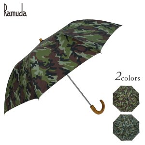 Ramuda 折りたたみ傘 トップレス  メンズ 紳士 日本製 日本製生地 UVカット 90%以上  uv 大きい ギフト プレゼント 名入れ ネームプレート ramuda