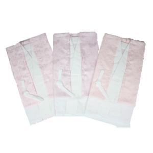 長襦袢 二部式 2J-A-C 柄はおまかせ 半襟 えもん抜き付き 二部式襦袢 日本製 バチ衿|ran