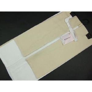 高級 二部式襦袢 半衿・えもん抜付 裾除 Mサイズ2JM13|ran