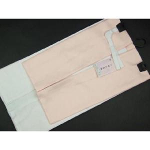 高級 二部式襦袢 半衿・えもん抜付 裾除 Mサイズ2JM6|ran