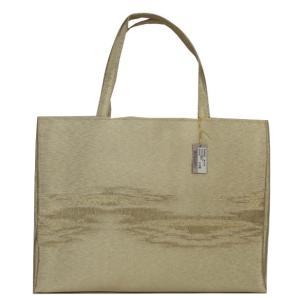つづれ織り バッグ 結婚式 サブバッグ パーティーバッグ トートバッグ TOB-1 日本製 ゴールド|ran