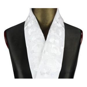 半襟 H-15 刺繍半襟 絹交織 半衿 振袖 訪問着 小紋 半衿 日本製|ran