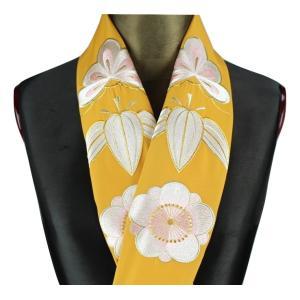 半襟 H-2 刺繍半襟 振袖用 小紋 訪問着 おしゃれ浪漫 京和彩 刺繍入り 半衿 日本製|ran