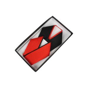 お子様用 重ね衿(伊達衿) 正絹 豪華リバーシブル 箱入り 使い方4通り KRH 赤/黒 ran