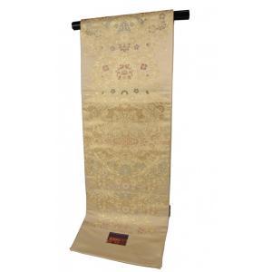富岡製糸場 世界遺産記念 柄 袋帯 西陣織 正絹 陰山織物 1522 謹製 全通柄 日本製 TSI-2|ran