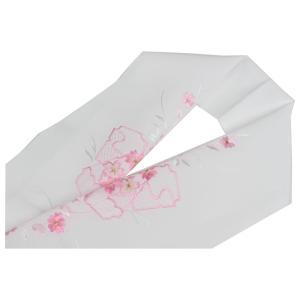 洗える半衿 刺繍半衿 H16  メール便送料無料|ran