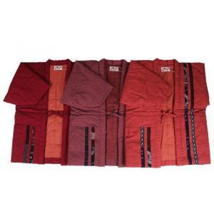 半纏  はんてん HTN 女性用 久留米 縦パッチ わた入れ 日本製 宮田織物|ran