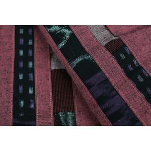 半纏  はんてん HTN 女性用 久留米 縦パッチ わた入れ 日本製 宮田織物|ran|12