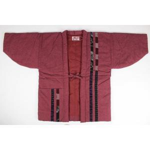 半纏  はんてん HTN 女性用 久留米 縦パッチ わた入れ 日本製 宮田織物|ran|09