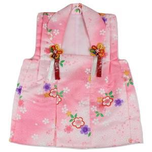 七五三 被布コート HOK-3 桜柄 ポリエステル 3歳〜4歳 ピンク|ran