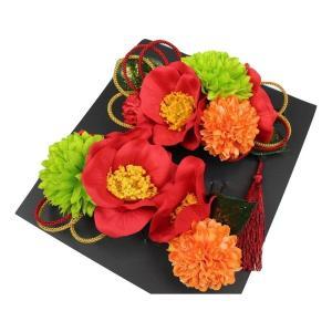髪飾り KK-1 成人式 結婚式 花の髪飾り 4点セット 卒業式 袴|ran