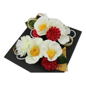 髪飾り KK-16 成人式 結婚式 花の髪飾り 4点セット 卒業式 袴|ran