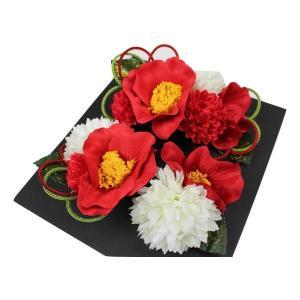 髪飾り KK-17 成人式 結婚式 花の髪飾り 4点セット 卒業式 袴|ran