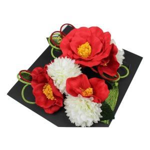 髪飾り KK-21 成人式 結婚式 花の髪飾り 4点セット 卒業式 袴 ran