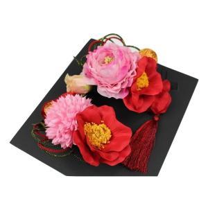 髪飾り KK-22 成人式 結婚式 花の髪飾り 3点セット 卒業式 袴 ran