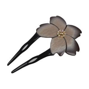 かんざし WBK-12 簪 ニ本差し かんざし 髪飾り 桜 日本髪|ran
