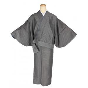 二部式着物 小紋 TFN-13 セパレート きもの 簡単着付け フリーサイズ|ran