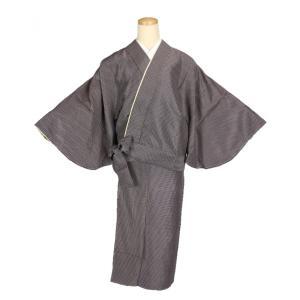 二部式着物 小紋 TFN-14 セパレート きもの 簡単着付け フリーサイズ|ran