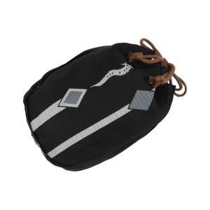 巾着 男性用 OSB-10 信玄袋 綿100% モダン柄 (No.10)うす茶紐|ran