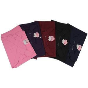 卒業式 入学式 袴 無地 単品  5色カラー&SSサイズ〜3Lサイズ ran