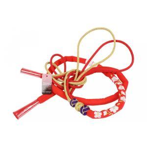 丸ぐけ帯締め MA-4 正絹 振袖用 桜刺繍入り 赤/金/紫 日本製|ran