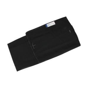 男物 TKO-3 単衣 紬 着物 紳士着物 黒色 M・Lサイズ|ran