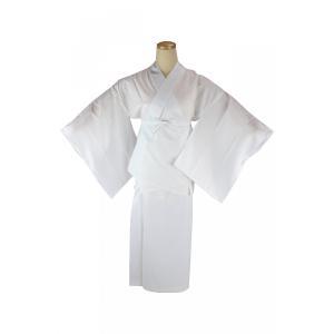 長襦袢 RON 絽 二部式襦袢 半襦袢 裾除け 半衿付き|ran