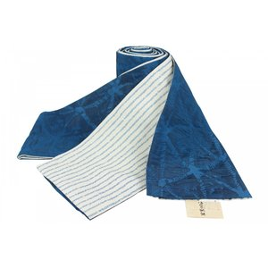きもの道楽 浴衣帯 半幅帯 小袋 KDO-183 四寸 リバーシブル 日本製 |ran