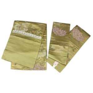 中古品 軽装帯 WCO-7 付け帯 正絹 ran