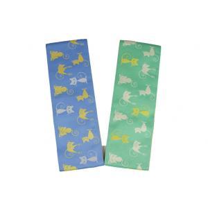 細帯 OHK-1-2 リバーシブル帯 半巾帯 小袋 日本製 ネコ柄 ポリエステル100%|ran