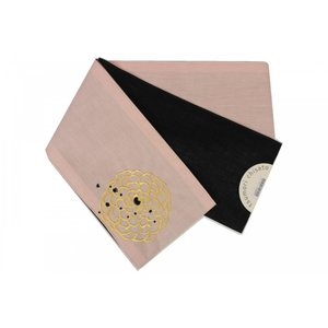 tsumori chisato 半巾帯 麻 四寸 ねこ柄 7t-118 日本製|ran
