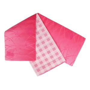 浴衣帯 小袋四寸 リバーシブル KO-31 半幅帯 日本製|ran