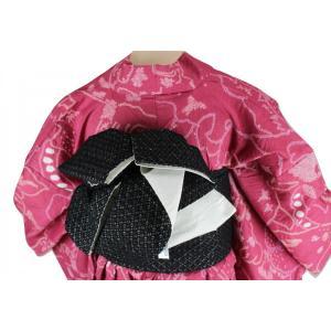 咲く季ブランド リボン 浴衣帯 小袋 リバーシブル SAO-4 日本製|ran